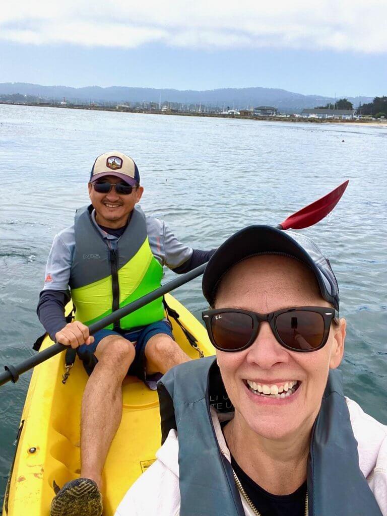 Kayaking in Monterey Bay