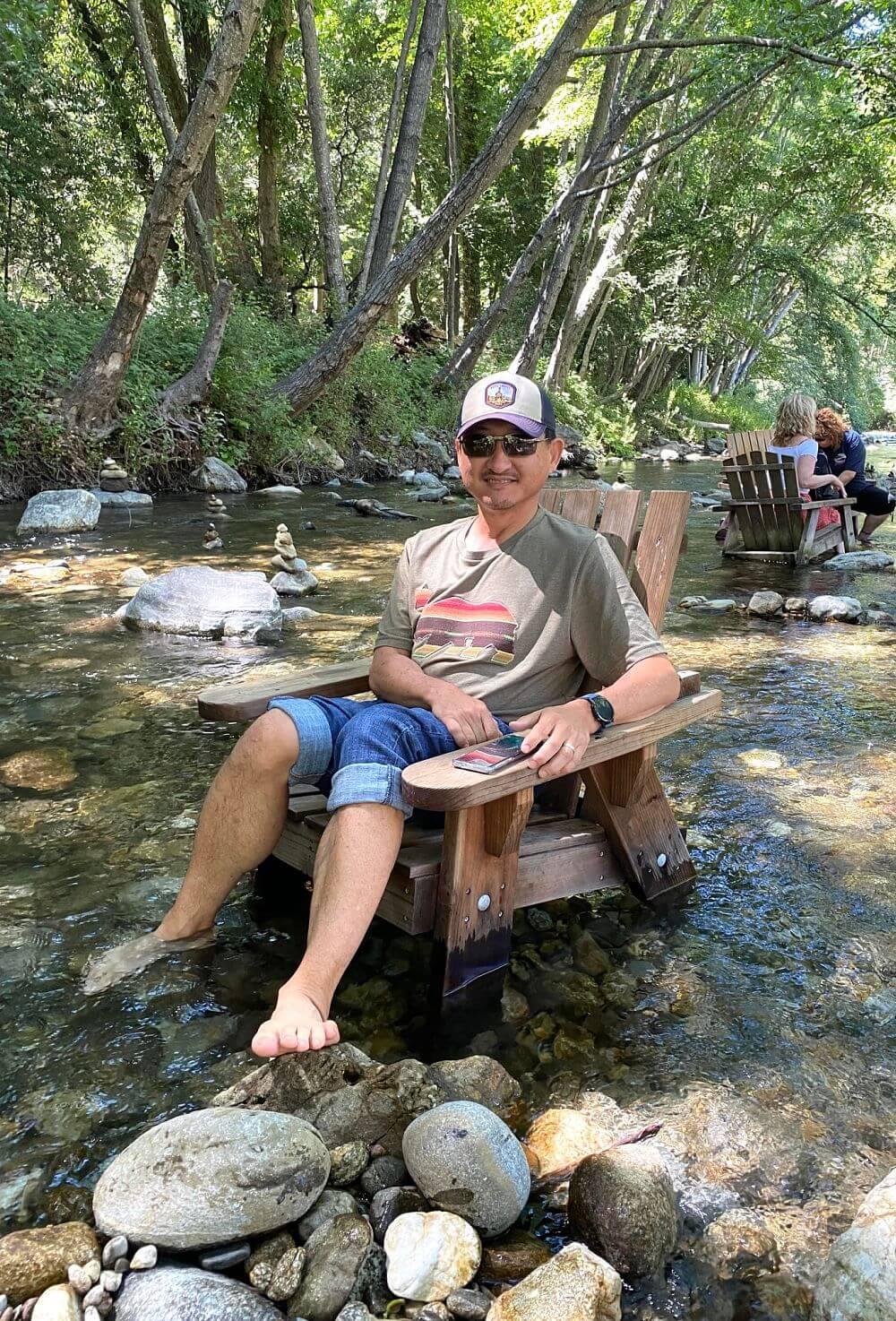 Jason at Big Sur River Inn