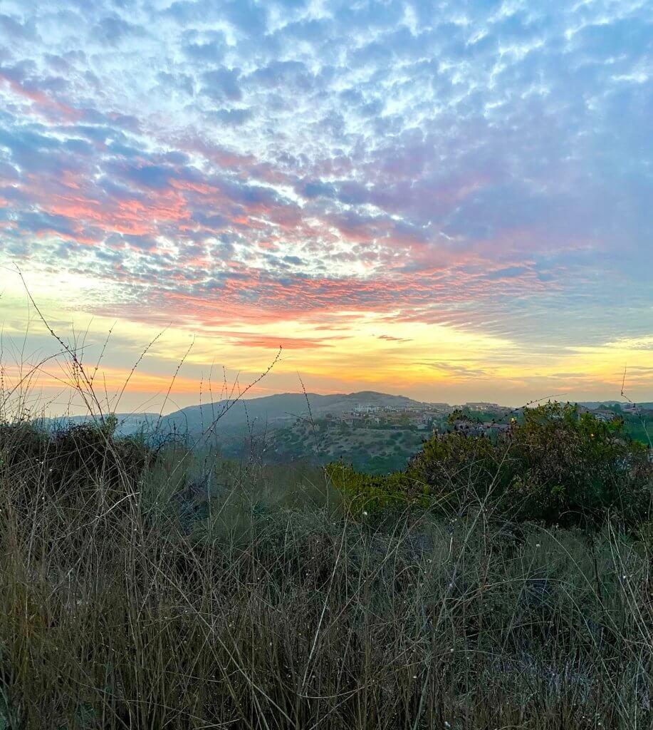 Sunset in Newport Coast