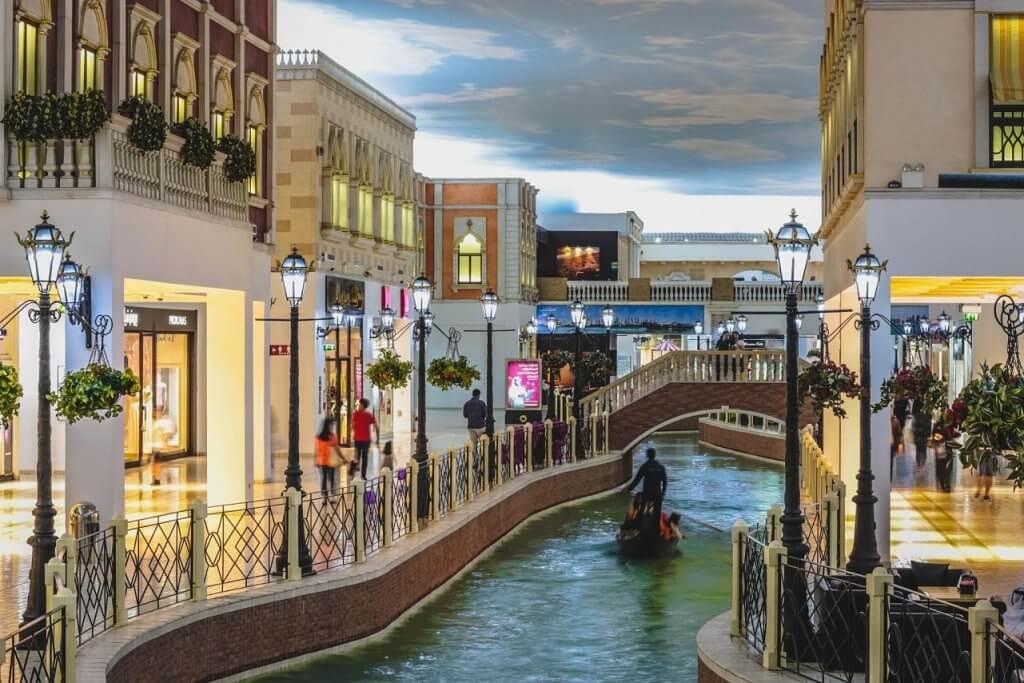 Inside The Venetian in Las Vegas