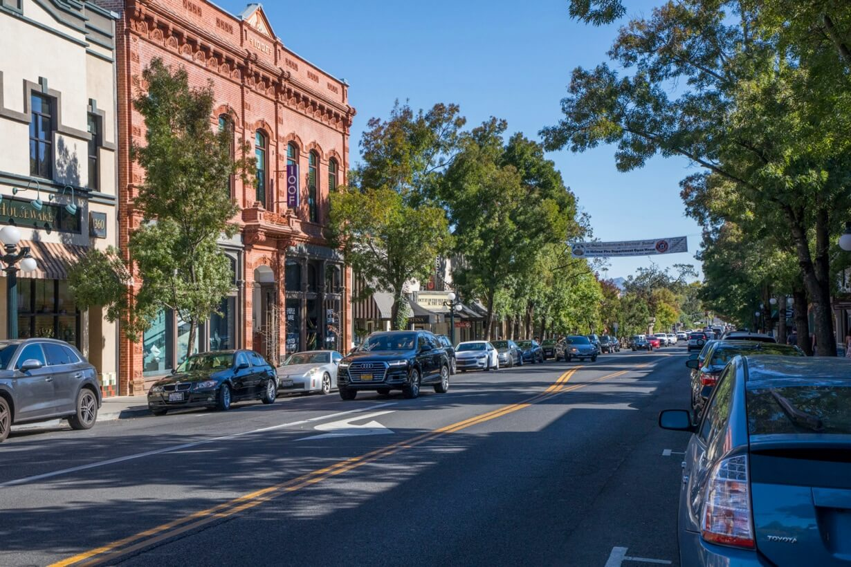 Historic Downtown of St. Helena
