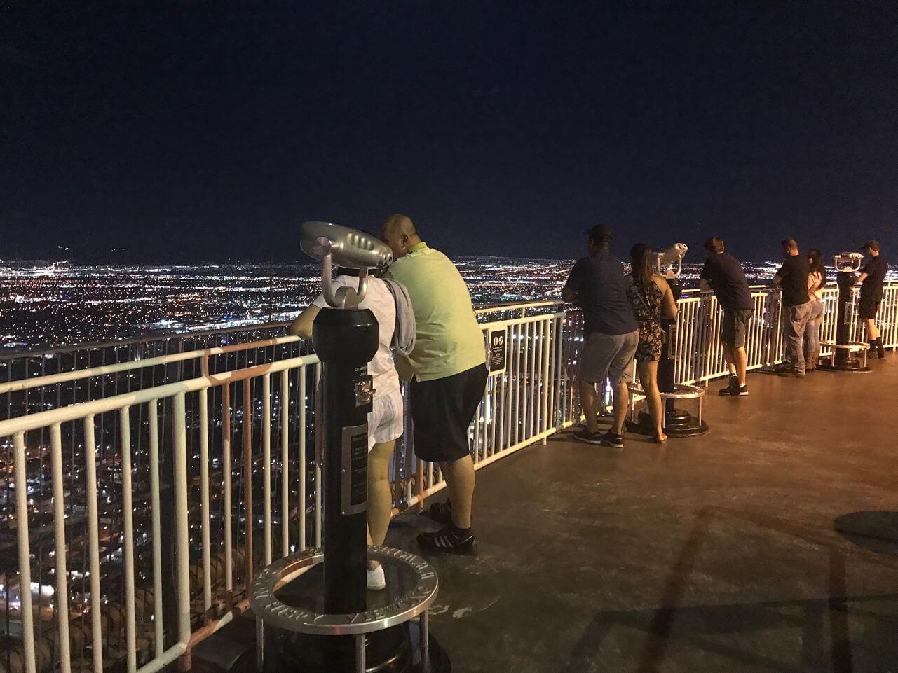 The Strat Observation Deck in Las Vegas