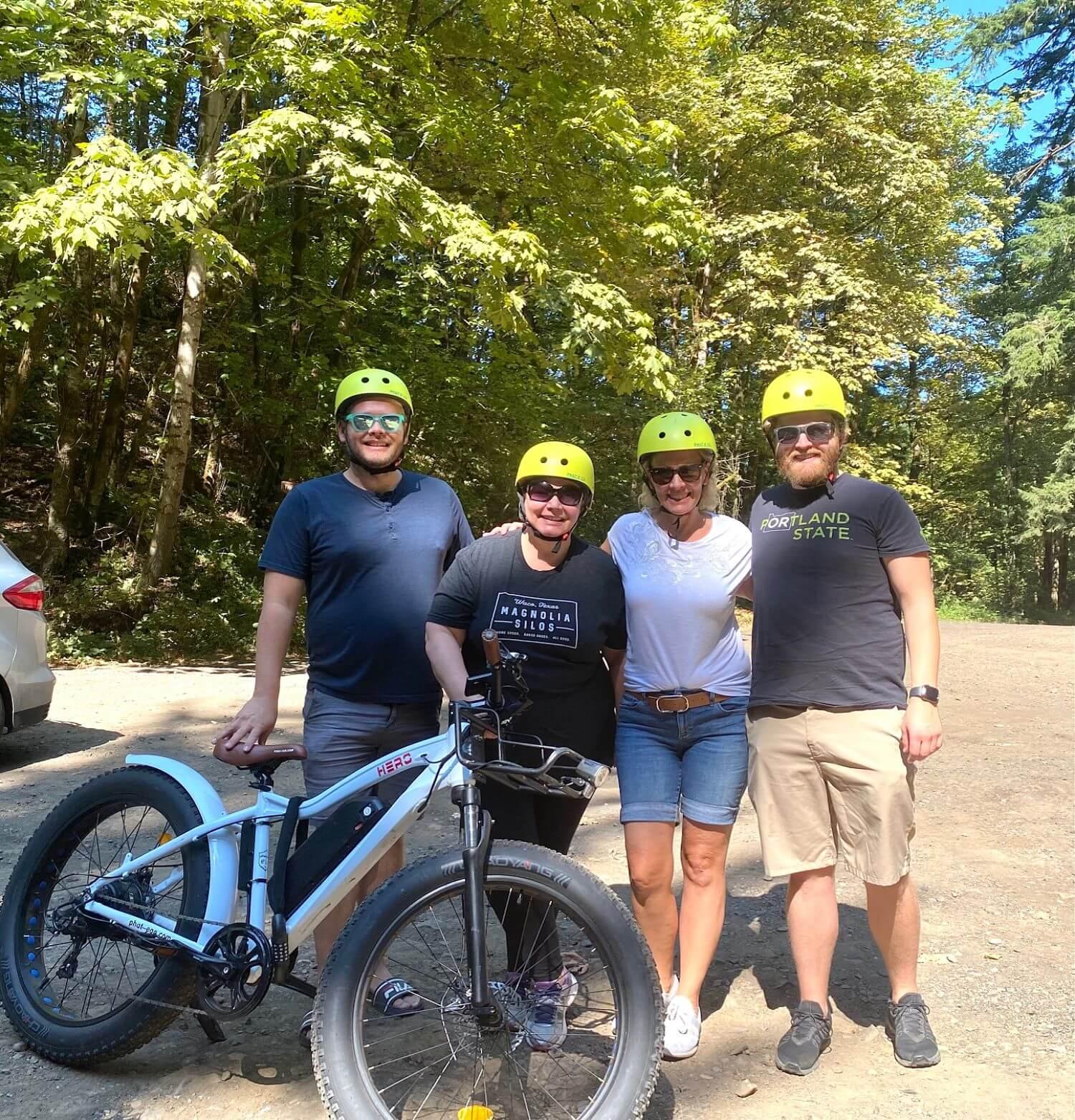 Columbia River Gorge Waterfalls Bike Tour